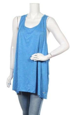 Γυναικείο αμάνικο μπλουζάκι Athletic Works, Μέγεθος 4XL, Χρώμα Μπλέ, 92% πολυεστέρας, 8% ελαστάνη, Τιμή 9,35€