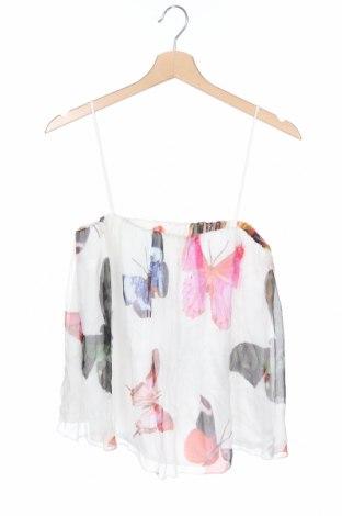 Tricou de damă Atos Lombardini, Mărime M, Culoare Multicolor, Mătase, Preț 98,75 Lei
