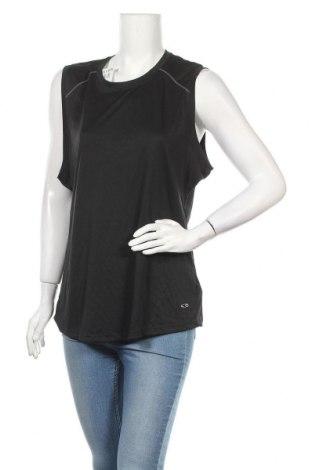Γυναικείο αμάνικο μπλουζάκι Champion, Μέγεθος XXL, Χρώμα Μαύρο, Πολυεστέρας, Τιμή 7,27€