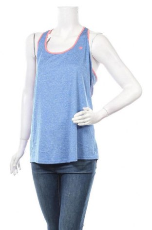 Γυναικείο αμάνικο μπλουζάκι Champion, Μέγεθος XL, Χρώμα Μπλέ, Πολυεστέρας, Τιμή 5,20€