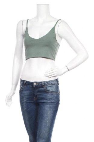 Дамски потник Even&Odd, Размер S, Цвят Зелен, 95% памук, 5% еластан, Цена 17,52лв.