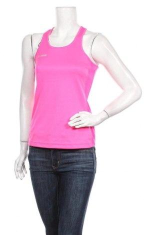 Γυναικείο αμάνικο μπλουζάκι Jako, Μέγεθος S, Χρώμα Ρόζ , Τιμή 5,84€