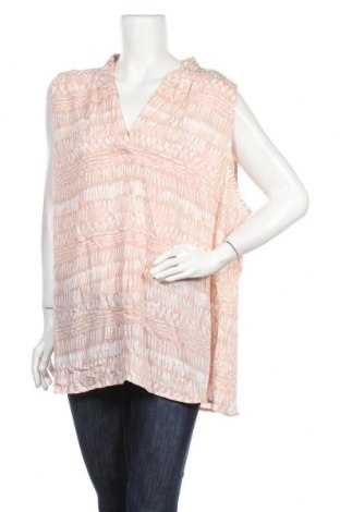 Γυναικείο αμάνικο μπλουζάκι Maggie T, Μέγεθος 4XL, Χρώμα Ρόζ , Πολυεστέρας, Τιμή 9,35€