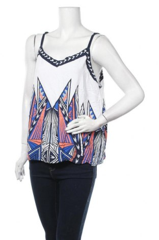 Γυναικείο αμάνικο μπλουζάκι Rockmans, Μέγεθος XXL, Χρώμα Πολύχρωμο, Βισκόζη, Τιμή 11,04€