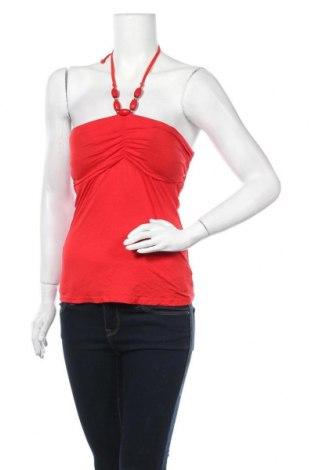 Γυναικείο αμάνικο μπλουζάκι Vert De Rage, Μέγεθος M, Χρώμα Κόκκινο, 95% βισκόζη, 5% ελαστάνη, Τιμή 3,51€