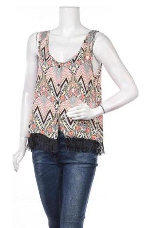 Γυναικείο αμάνικο μπλουζάκι Vert De Rage, Μέγεθος M, Χρώμα Πολύχρωμο, Βισκόζη, Τιμή 3,70€