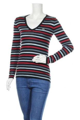 Дамски пуловер Lacoste, Размер M, Цвят Многоцветен, Вълна, Цена 52,00лв.