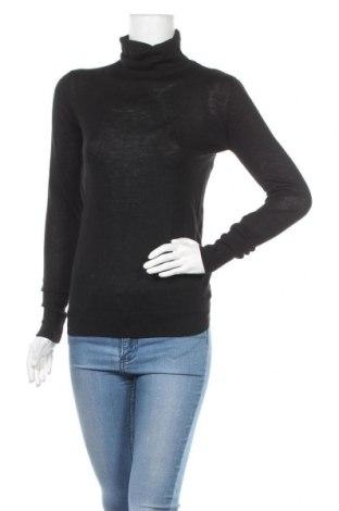 Дамски пуловер Zara Knitwear, Размер M, Цвят Черен, 39% модал, 28% полиестер, 22% акрил, 11% вълна, Цена 34,22лв.