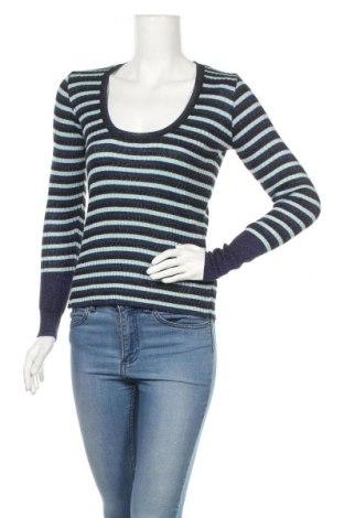 Γυναικείο πουλόβερ Zara Knitwear, Μέγεθος M, Χρώμα Μπλέ, 84% βισκόζη, 16% μεταλλικά νήματα, Τιμή 13,88€