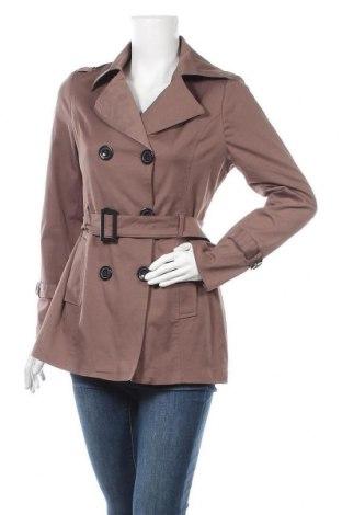 Дамски шлифер, Размер L, Цвят Кафяв, Цена 39,69лв.