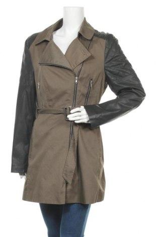 Дамски шлифер Atmosphere, Размер L, Цвят Зелен, Полиестер, памук, еко кожа, Цена 24,26лв.