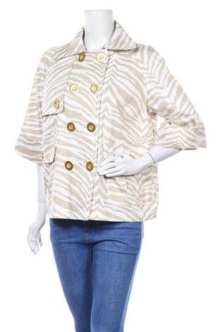 Дамски шлифер Just B, Размер XL, Цвят Бежов, 97% памук, 3% еластан, Цена 41,58лв.