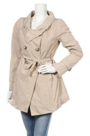Дамски шлифер Rinascimento, Размер M, Цвят Бежов, Полиестер, Цена 66,00лв.