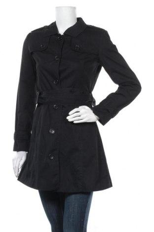 Дамски шлифер Troll, Размер S, Цвят Черен, Памук, Цена 30,87лв.