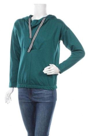 Дамски суичър Bewear, Размер S, Цвят Зелен, 50% вискоза, 40% памук, 10% полиестер, Цена 26,86лв.