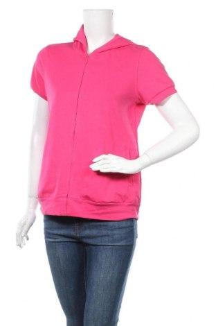 Дамски суичър Uniqlo, Размер L, Цвят Розов, Цена 22,94лв.