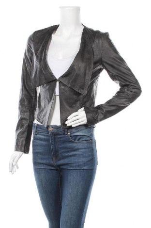 Дамско кожено сако Edc By Esprit, Размер XS, Цвят Черен, Еко кожа, Цена 12,08лв.
