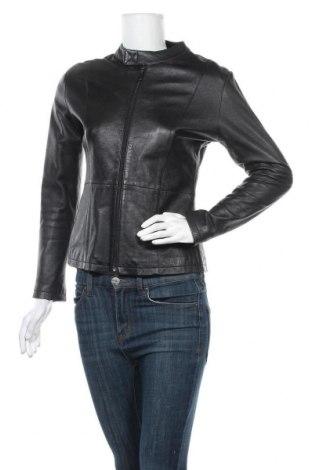 Γυναικείο δερμάτινο μπουφάν, Μέγεθος M, Χρώμα Μαύρο, Γνήσιο δέρμα, Τιμή 53,07€