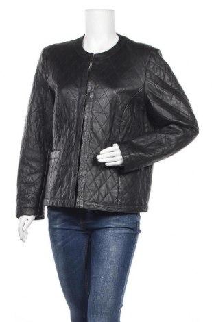 Γυναικείο δερμάτινο μπουφάν Bonita, Μέγεθος XXL, Χρώμα Μαύρο, Γνήσιο δέρμα, Τιμή 54,91€