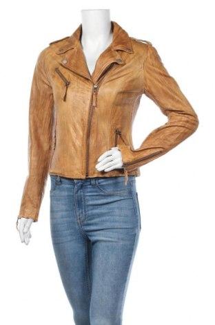 Dámská kožená bunda  Freaky Nation, Velikost L, Barva Hnědá, Pravá kůže, Cena  1262,00Kč