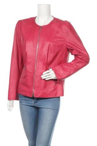 Дамско кожено яке Gerry Weber, Размер L, Цвят Розов, Естествена кожа, Цена 104,25лв.