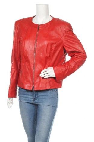 Γυναικείο δερμάτινο μπουφάν Gerry Weber, Μέγεθος L, Χρώμα Κόκκινο, Γνήσιο δέρμα, Τιμή 79,79€