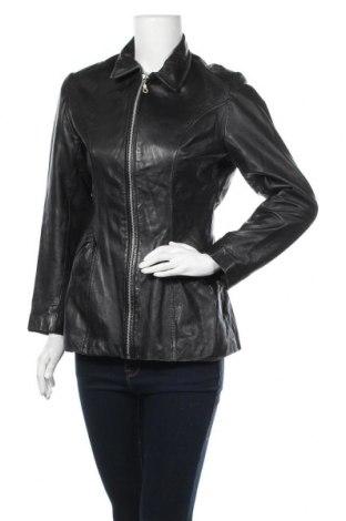Γυναικείο δερμάτινο μπουφάν Gipsy, Μέγεθος M, Χρώμα Μαύρο, Γνήσιο δέρμα, Τιμή 47,28€