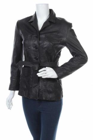 Γυναικείο δερμάτινο μπουφάν Gipsy, Μέγεθος S, Χρώμα Μαύρο, Γνήσιο δέρμα, Τιμή 54,66€