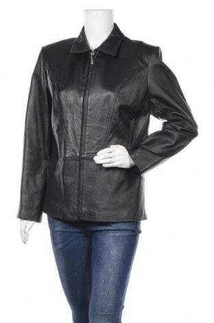 Γυναικείο δερμάτινο μπουφάν Joy, Μέγεθος L, Χρώμα Μαύρο, Γνήσιο δέρμα, Τιμή 27,67€
