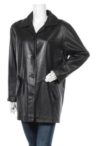 Дамско кожено яке Maddox, Размер XL, Цвят Черен, Естествена кожа, Цена 84,11лв.