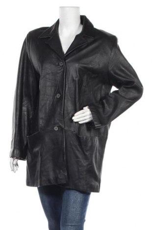 Дамско кожено яке Mauritius, Размер L, Цвят Черен, Естествена кожа, Цена 91,77лв.