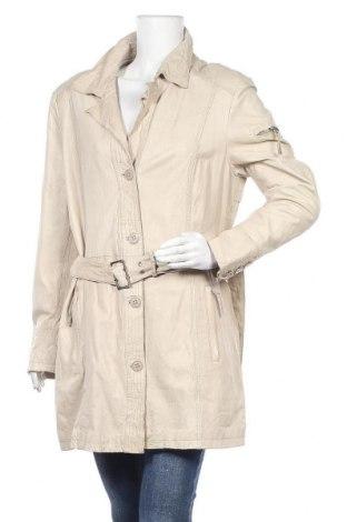 Дамско кожено яке Milestone, Размер XL, Цвят Бежов, Естествена кожа, Цена 81,27лв.