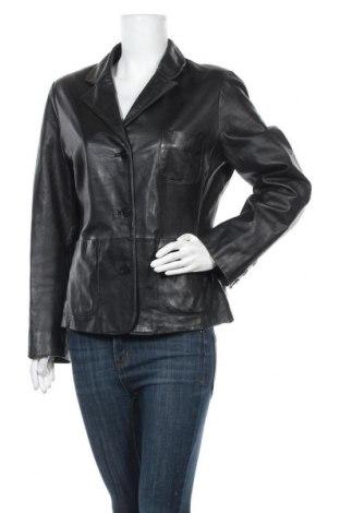 Дамско кожено яке Rosner, Размер L, Цвят Черен, Естествена кожа, Цена 20,29лв.