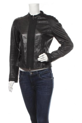 Γυναικείο δερμάτινο μπουφάν Valentino, Μέγεθος M, Χρώμα Μαύρο, Γνήσιο δέρμα, Τιμή 166,27€