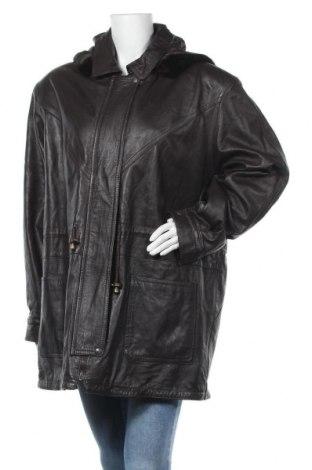 Дамско кожено яке Vip, Размер L, Цвят Кафяв, Естествена кожа, Цена 23,36лв.