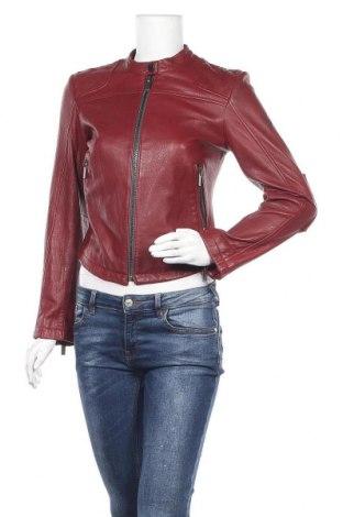 Γυναικείο δερμάτινο μπουφάν William Rast, Μέγεθος S, Χρώμα Κόκκινο, Γνήσιο δέρμα, Τιμή 59,75€