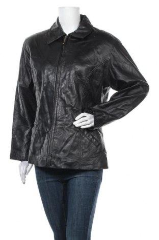 Γυναικείο δερμάτινο μπουφάν Wilsons Leather, Μέγεθος XL, Χρώμα Μαύρο, Γνήσιο δέρμα, Τιμή 45,01€