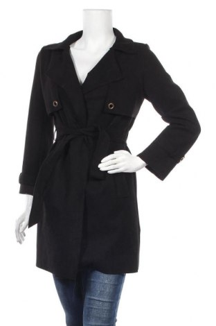 Дамско палто, Размер M, Цвят Черен, Цена 31,61лв.