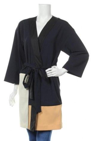 Дамско палто & Other Stories, Размер XS, Цвят Син, 97% полиестер, 3% еластан, Цена 89,40лв.