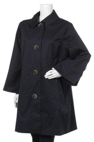 Дамско палто Elena Miro, Размер XXL, Цвят Син, 97% памук, 3% еластан, Цена 86,10лв.