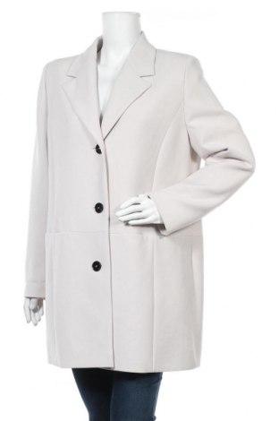 Дамско палто Fuchs & Schmitt, Размер L, Цвят Сив, 65% полиестер, 32% вискоза, 3% еластан, Цена 158,95лв.