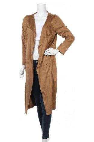 Дамско палто Jennifer Taylor, Размер M, Цвят Кафяв, Полиестер, Цена 9,98лв.