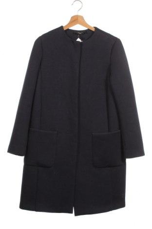 Дамско палто Weekend Max Mara, Размер XS, Цвят Син, 96% вискоза, 4% еластан, Цена 556,92лв.