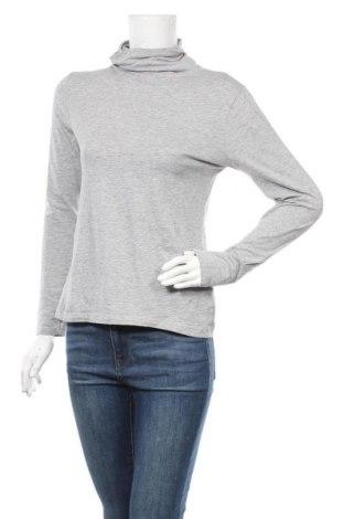 Дамско полo Up 2 Fashion, Размер M, Цвят Сив, 90% памук, 5% вискоза, 5% еластан, Цена 17,85лв.