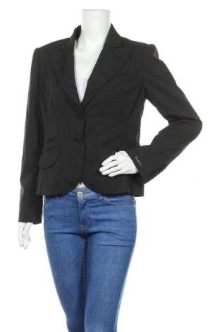 Дамско сако Anastacia By S.Oliver, Размер L, Цвят Черен, 63% полиестер, 34% вискоза, 3% еластан, Цена 4,79лв.