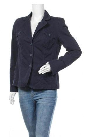 Дамско сако Anne L., Размер L, Цвят Син, 100% памук, Цена 21,26лв.
