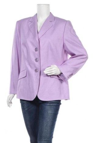 Γυναικείο σακάκι Basler, Μέγεθος XL, Χρώμα Βιολετί, 50% μαλλί, 50% μετάξι, Τιμή 47,74€