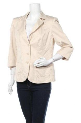 Дамско сако Betty Barclay, Размер L, Цвят Бежов, 49% полиамид, 47% памук, 4% еластан, Цена 35,70лв.