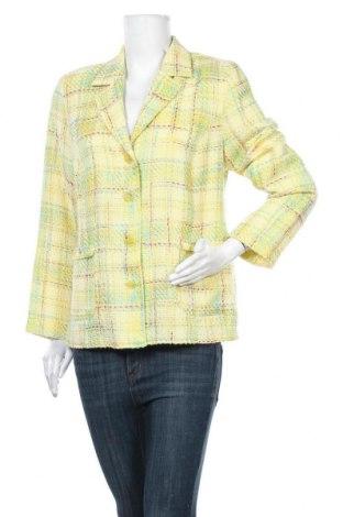 Дамско сако Chicco, Размер M, Цвят Жълт, 50% акрил, 15% вискоза, 25% полиестер, 10% други материали, Цена 11,34лв.