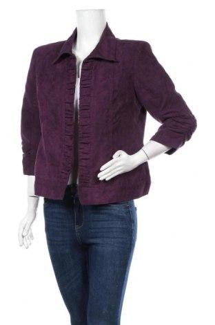 Γυναικείο σακάκι Christopher & Banks, Μέγεθος M, Χρώμα Βιολετί, Πολυεστέρας, Τιμή 9,29€